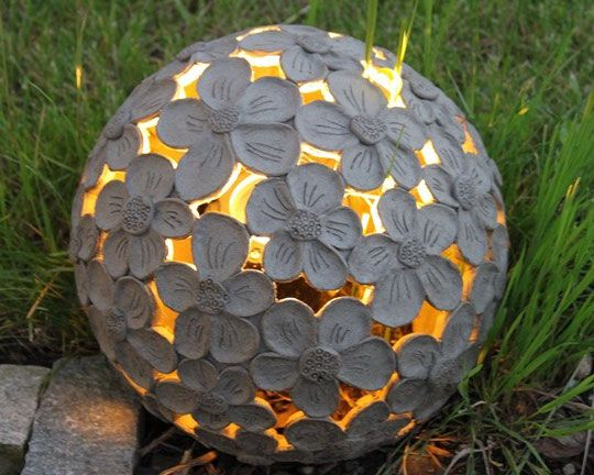 die besten 25 kugellampe garten ideen auf pinterest lampe kugel lampe selber machen. Black Bedroom Furniture Sets. Home Design Ideas