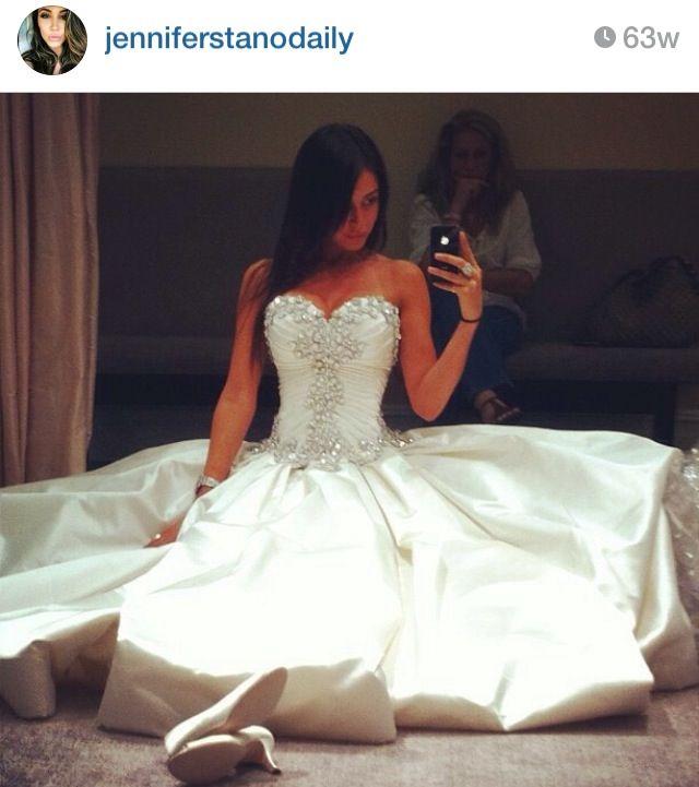 Wedding dress jennifer stano | Wedding Day