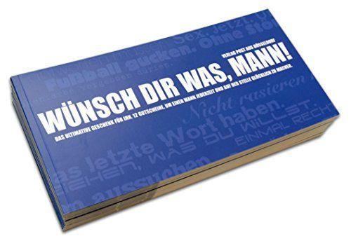 Dieses Gutscheinbuch ist ein witziges Geschenk für Ihren Mann. 12 witzige Gutscheine, deren Einlösung Sie nichts kostet. Machen Sie Ihren Mann glücklich. Auch für Frauen erhältlich: Das Gutscheinbuch für Frauen.