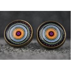 MANDALA Vidalı Bronz Küpe http://ladymirage.com.tr/kupeler.html/mandala-vidali-bronz-k%C3%BCpe-30363849.html?limit=100 #mandala #vidalı #küpe #bronz #vintage #takı #tasarım #stil #bohem #bohochic #hippio