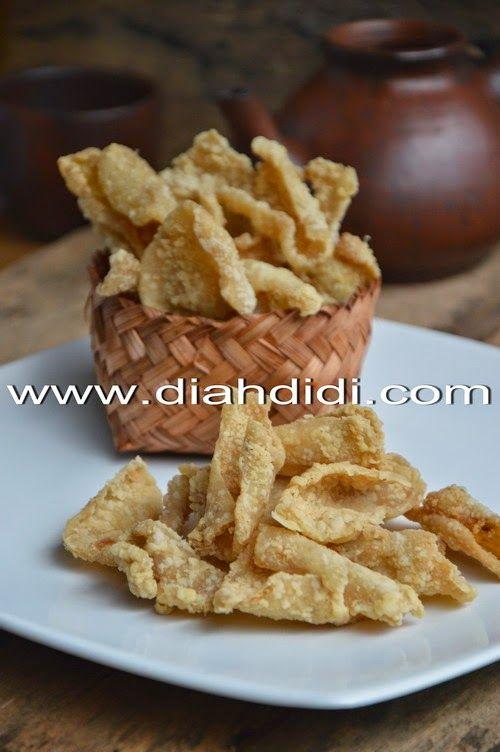 Diah Didi's Kitchen: Keripik Kulit Ayam