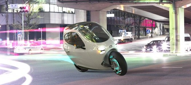 Lit Motors unveils all-electric, fully enclosed motorcycle