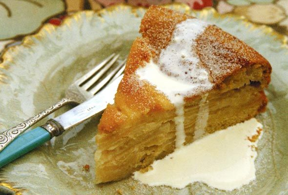 Drunken Apple Cake