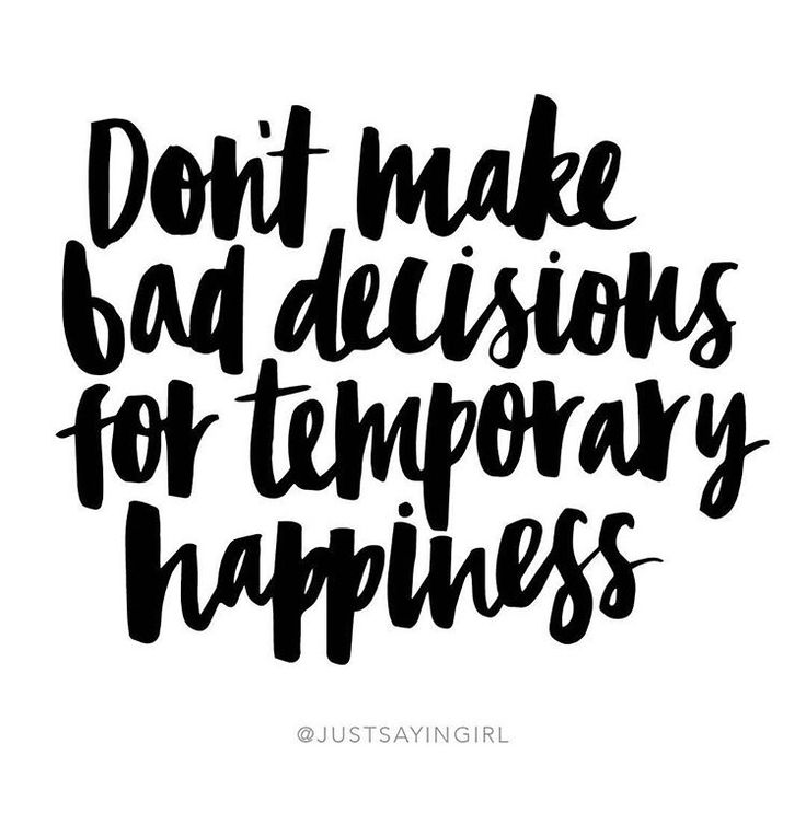 Dont Settle For Temporary Happiness