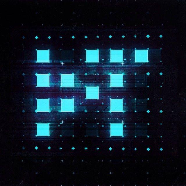 Abstract interpretation of my DT logo.   #3d #cinema4d #grids #gui #interface #danosaur #design  VARIOUS - DANIEL TEUCHERT - Design & Conception