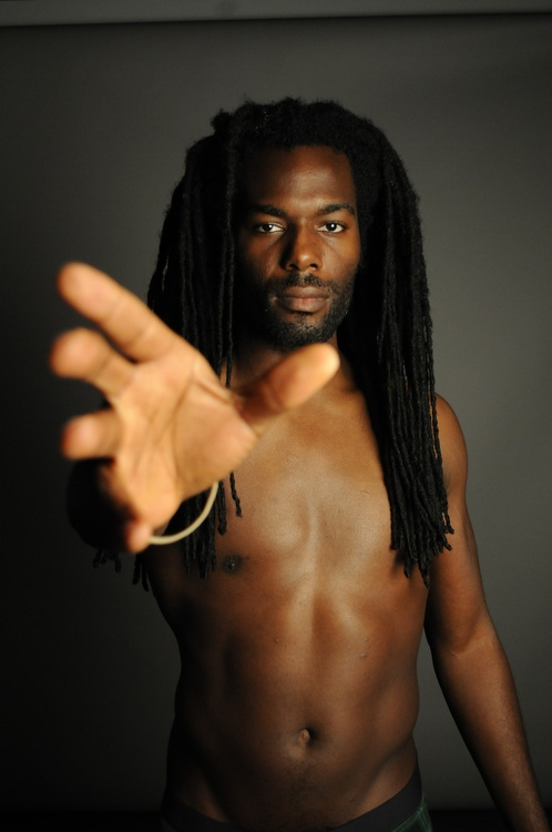 Also not Dude with dreads naked