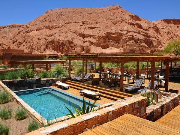 Atacama desert lodge