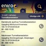 Var är tunnelbanan?  När i Stockholm kan det ibland vara svårt att snabbt få koll på var närmaste t-banestation ligger. Svar på frågan får du snabbt i vår app.