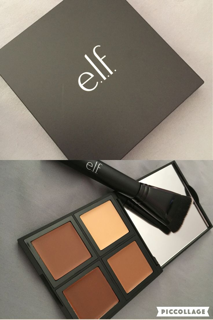 Cream contour by elf. So creamy. I've been using it for a few weeks now and I love it. Really easy to apply and blend. I recommend a translucent mattefying powder to go over it.