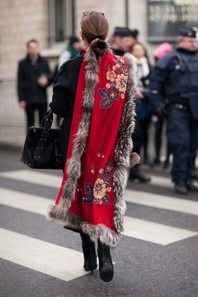 Street Style From Paris Haute Couture Spring 2015 Vogue