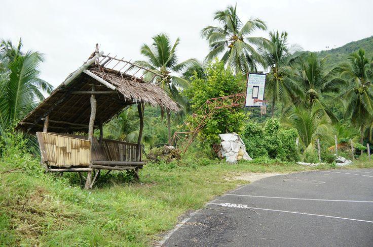 Basketballkorb auf den Philippinen