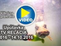 Rybárska Televízia - sme tu pre Vás. Najbližšia relácia 9/2016 už tento piatok 14.10.2016