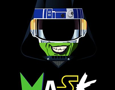 """Check out new work on my @Behance portfolio: """"Mask"""" http://be.net/gallery/52662697/Mask"""