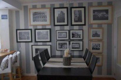 10 paredes pintadas a rayas | Hacer bricolaje es facilisimo.com