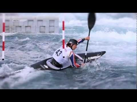2012 British Olympic Canoe Slalom Team