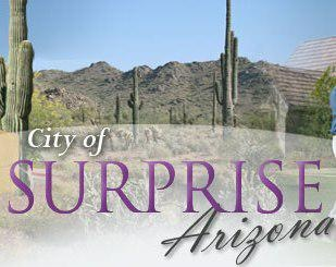 we go to surprise, arizona to visit some of my husband's family