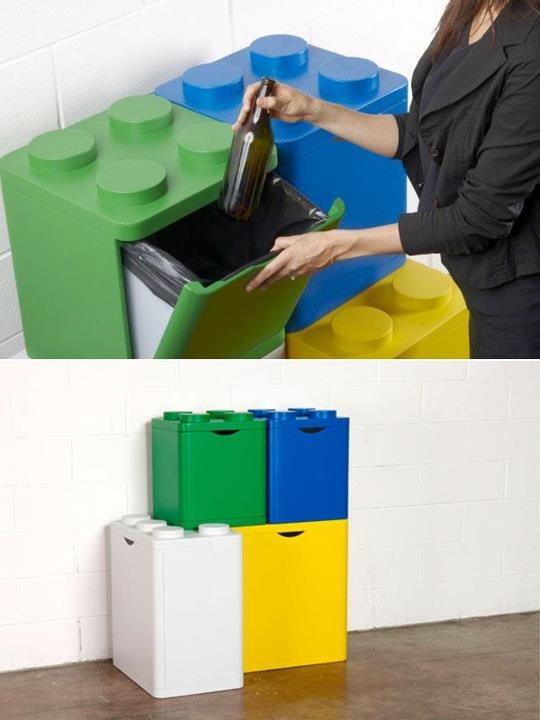 DIFFERENZUIAMO: i lego per la raccolta differenziata!