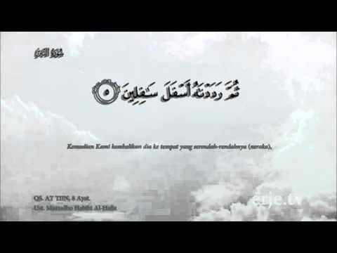 QS. 95 - AT TIIN - Murtadho Habibi Al Hafidz - YouTube