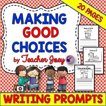 social skills writing prompts Character education and life skills teaching guides for middle school teaching guides  writing assignments, and student activities.