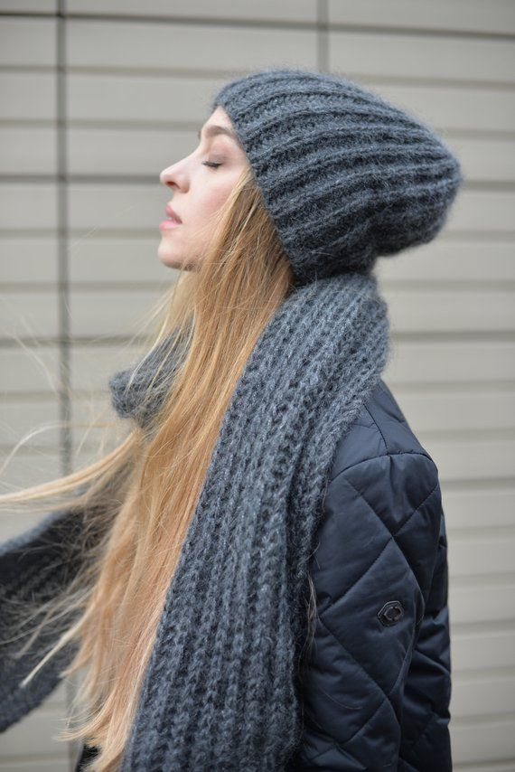 d024174e0a3 Knoto knitted slouch beanie hat will keep you warm and cosy in ...