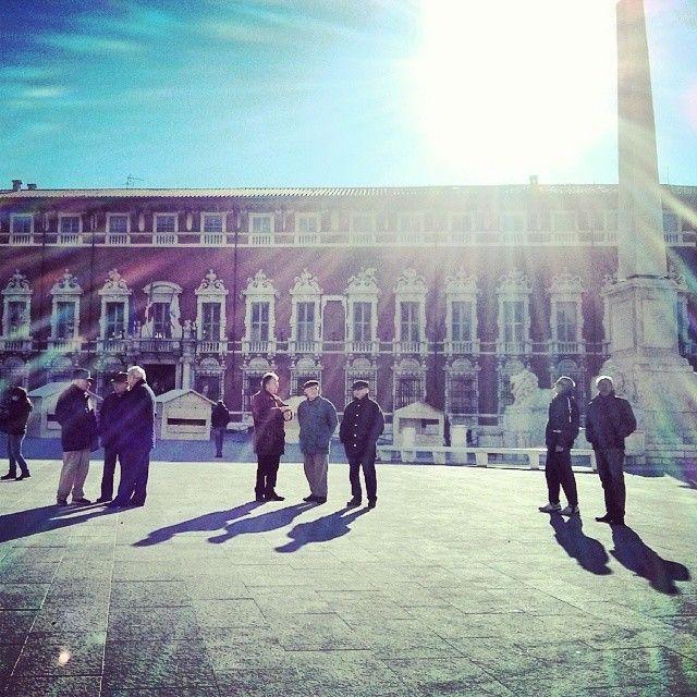 A diche me! Palazzo Ducale, piazza degli Aranci, Massa (Italy). © Valentino Liberto