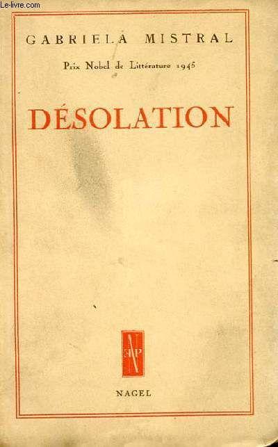 Desolacion / Gabriela Mistral (1922)