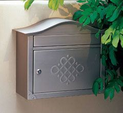 decorative wall mount mailboxes
