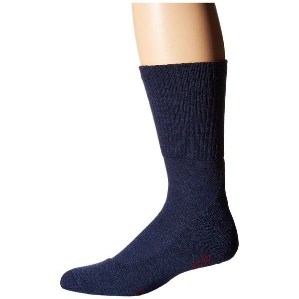 Falke Walkie Light Socks (Jeans) Men's No Show Socks ($32) ❤ liked on Polyvore featuring men's fashion, men's clothing, men's socks, mens wool socks, falke mens socks, mens socks and mens crew socks