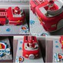 Image result for paw patrol fire truck cake