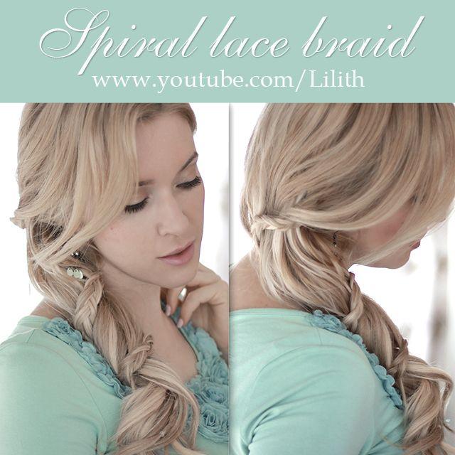 Fine 1000 Ideas About Spiral Braid On Pinterest Braids Easy Hair Short Hairstyles Gunalazisus