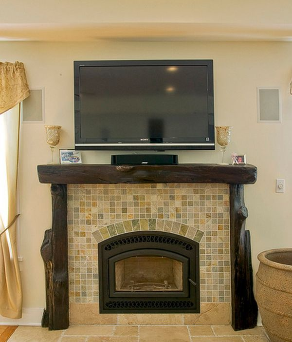Wood Fireplace Mantels   A Cozy Focal Point Element For The Living Room