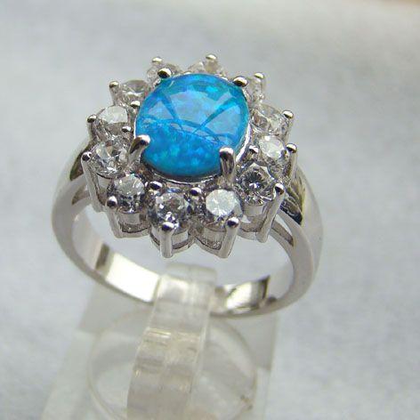 china de fábrica al por mayor precio azul ópalo de fuego azul joyería opal joyería anillos acepta paypal-Joyería Plata-Identificación del producto:300002363788-spanish.alibaba.com