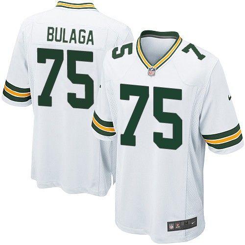 Nike Elite Green Bay Packers Bryan Bulaga 75 White NFL Jersey for Sale Sale