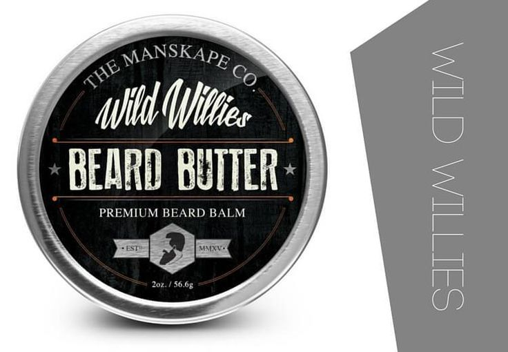 Wild willies beard butter for soft beards
