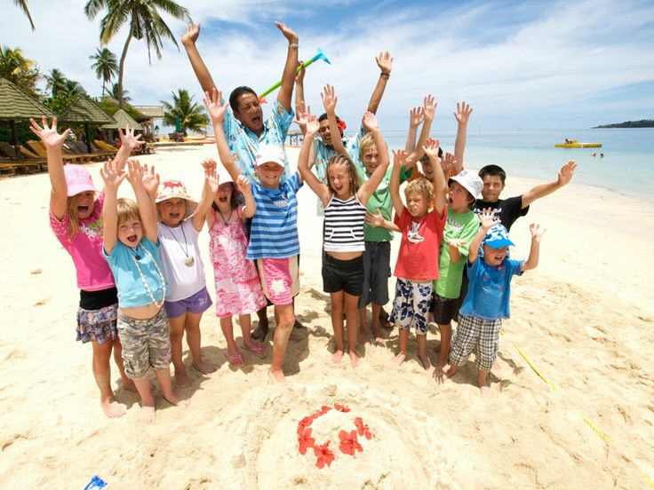 The kids will have a ball at Plantation Island Resort, Fiji  www.islandescapes.com.au