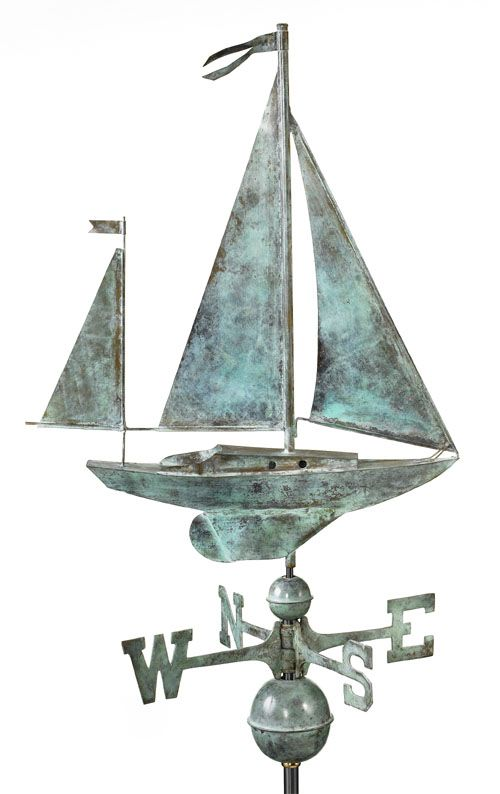 Full Size Copper Weathervanes