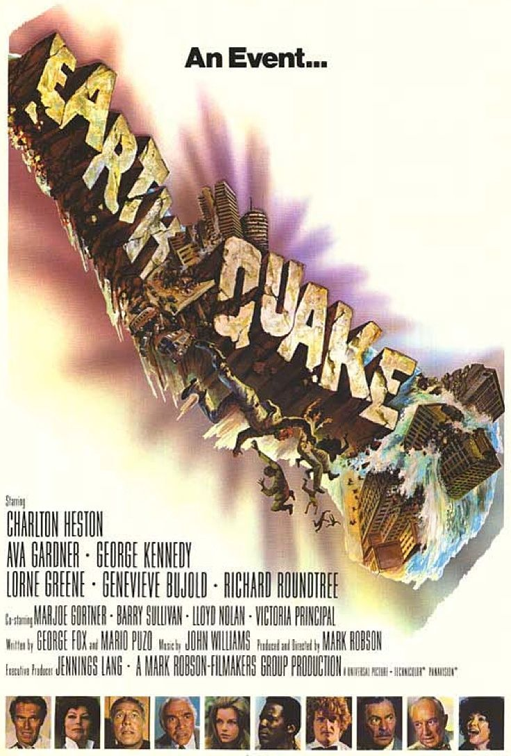 Earthquake. This would make a great double-bill with 2016's San Andreas.