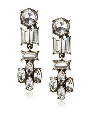 54% OFF Leslie Danzis Estate Antiqued Crystal Earrings