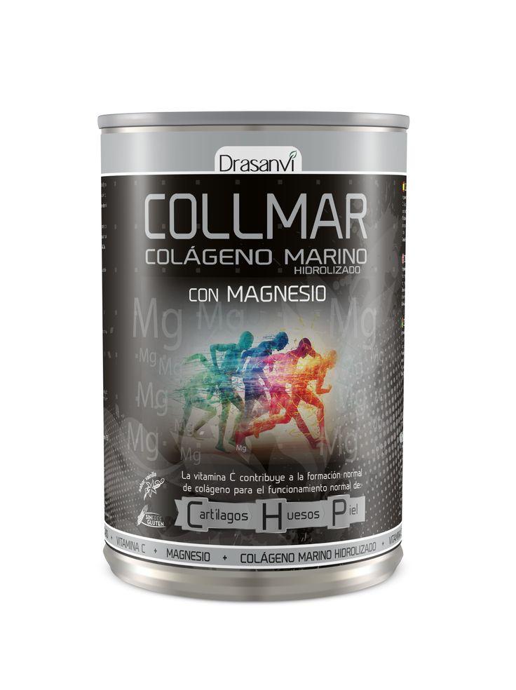 Collmar Colágeno marino hidrolizado con magnesio