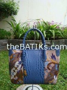 Tas Batik kombinasi Kulit B-0108 Madam