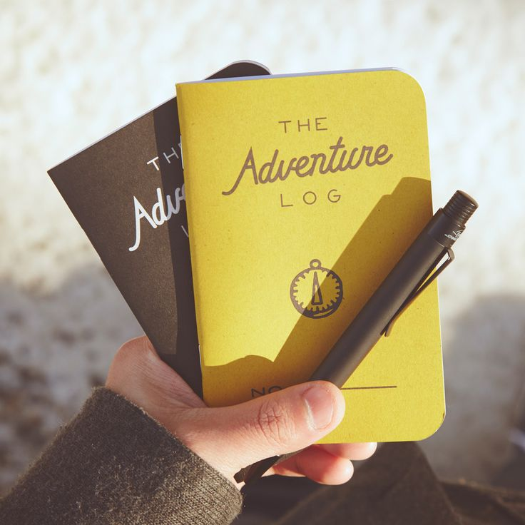 The Adventure Log -- looks like a cool to use  in field notes size Buteo Bunker