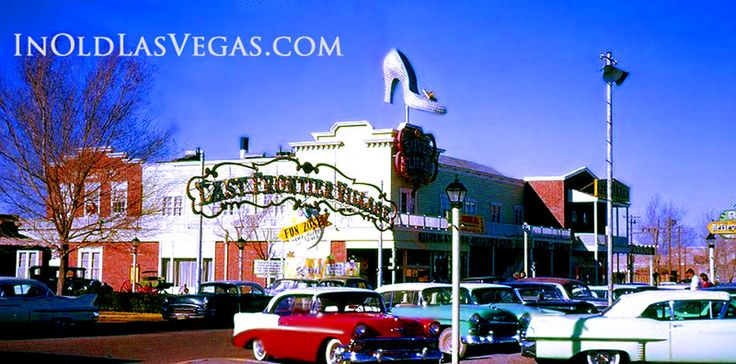 "The Silver Slipper ~ Old Las Vegas ~ ""Like the 'giant hat' used for Hollywood's Brown Derby Restaurant - The Silver Slipper sign became a world famous icon and could be seen from miles away when lit up at night. The use of a woman's shoe fit the saloon's Burlesque Theater Showgirl theme, quite well."" ~ by http://inoldlasvegas.com/silver_slipper.html"