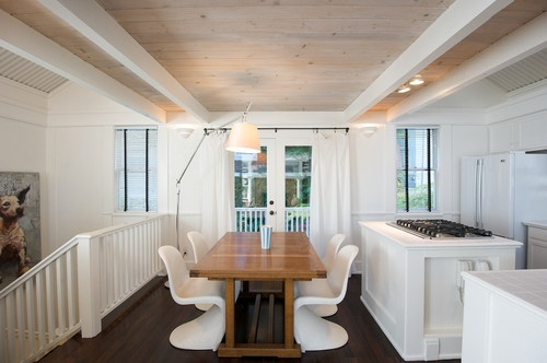 Lighting Ideas For Vaulted Ceilings as well Whitewashing Oak Furniture moreover Sold 46425864 furthermore Ceiling design ideas also Rustic Pine Sofa Table. on white knotty pine ceiling with beams