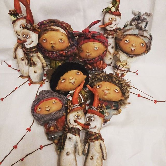 #handmadedoll #handmadetoys #hendmade #heppynewyear #cristmas #оленавербець #зробленовукраїні #зробленозлюбовю