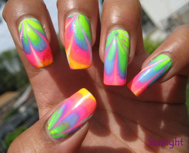 120 best marbling nail art design ideas images on pinterest water marble nail art nails manicure prinsesfo Image collections
