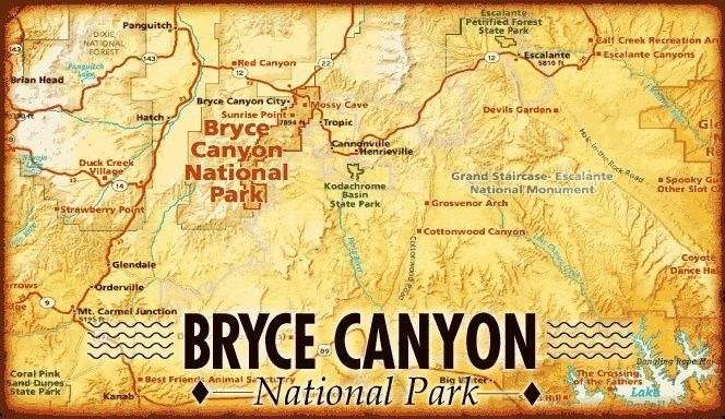 Bryce Canyon  is beroemd om zijn unieke geologische rotsformaties. Door de samenwerkende krachten van vriezen en dooien worden de kalk- en zandsteenformaties langzaam geërodeerd en vormen zo de zogenaamde hoodoos. De afgesleten toppen zorgen voor prachtige formaties die in het zonlicht erg mysterieus lijken. De zon zorgt voor schakeringen van de kleuren van de rotsen. De kleuren variëren van roze naar oranje. Het is een onderdeel van de Grand Staircase.
