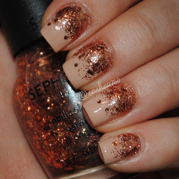 Best 25 copper nails ideas on pinterest chrome rose gold nails sasha2750s nails show us your tipstag your nail photos with sephoranailspotting to prinsesfo Choice Image