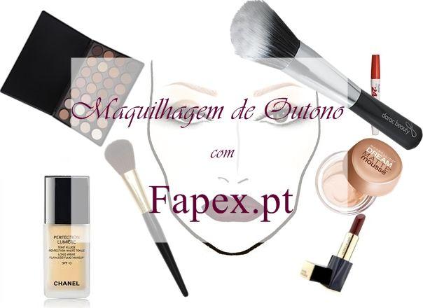 The Pink Leather Jacket: Maquilhagem de Outono | Fapex.pt