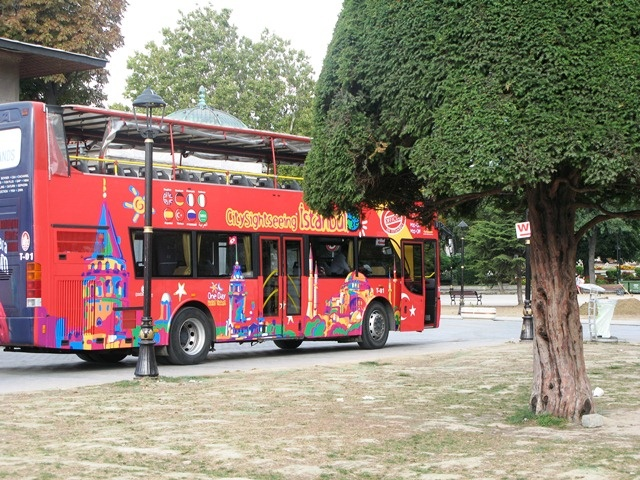 istanbul, city tour bus