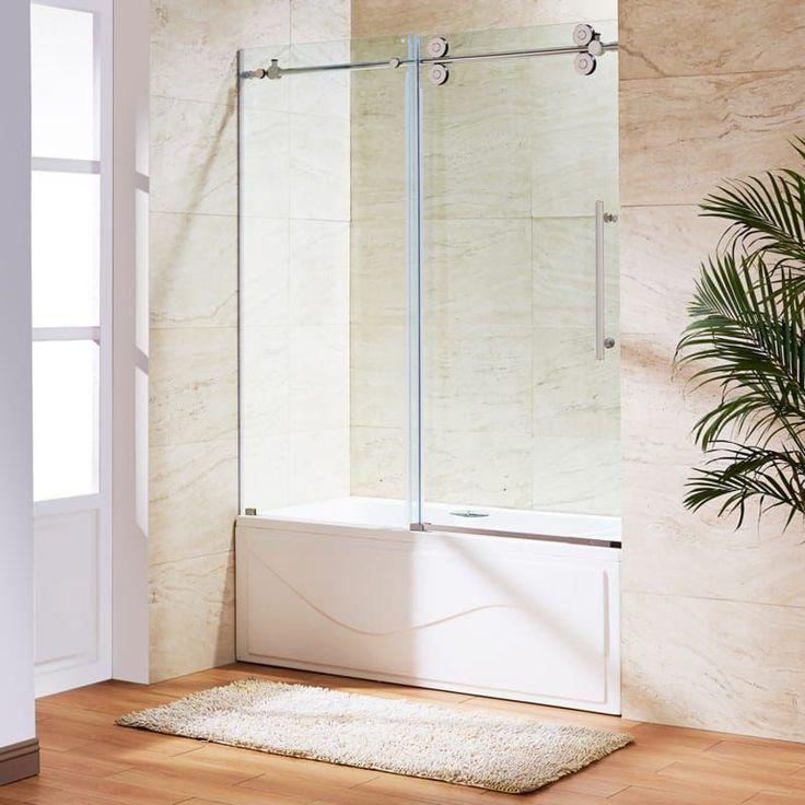 Vigo Vg60416066 Shower Doors Frameless Sliding Shower Doors Frameless Shower Doors